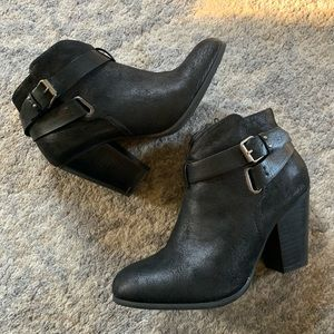 XOXO Katniss Black Bootie